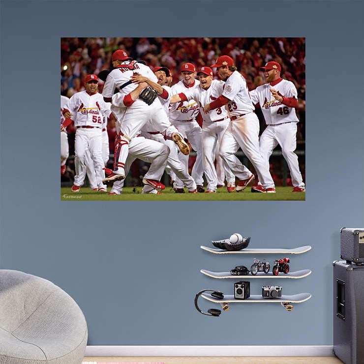 st louis cardinals 2011 world series celebration mural. Black Bedroom Furniture Sets. Home Design Ideas