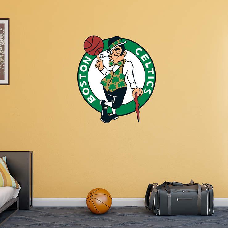 Classroom Decor Games ~ Boston celtics logo wall decal shop fathead for