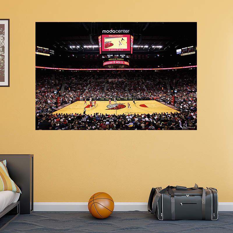 Portland Trail Blazers Stadium: Shop Portland Trail Blazers Wall Decals & Graphics