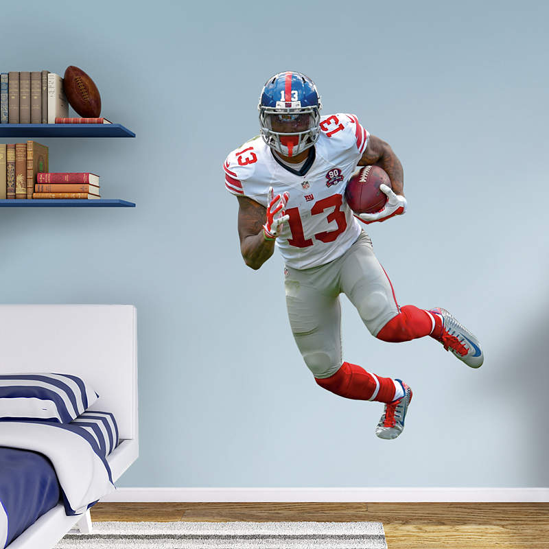 Life-size NFL Fathead wall decals