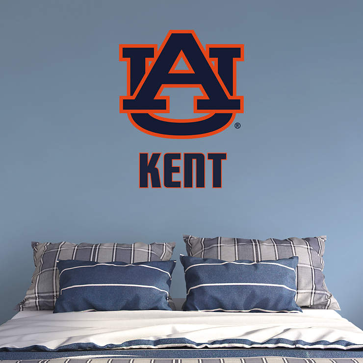 Auburn Tigers Logo Personalized Name Wall Decal Shop