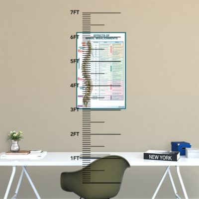 Dry Erase Fundraising Thermometer