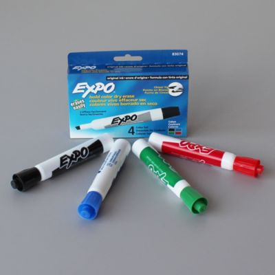 Pack of 4 Dry Erase Markers