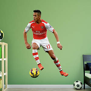 Alexis s nchez for Emirates stadium mural