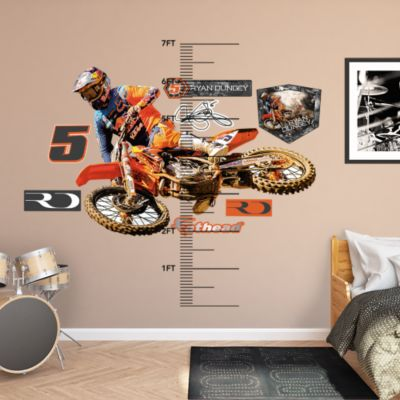 Monster Jam Cartoon Trucks Collection Fathead Wall Decal