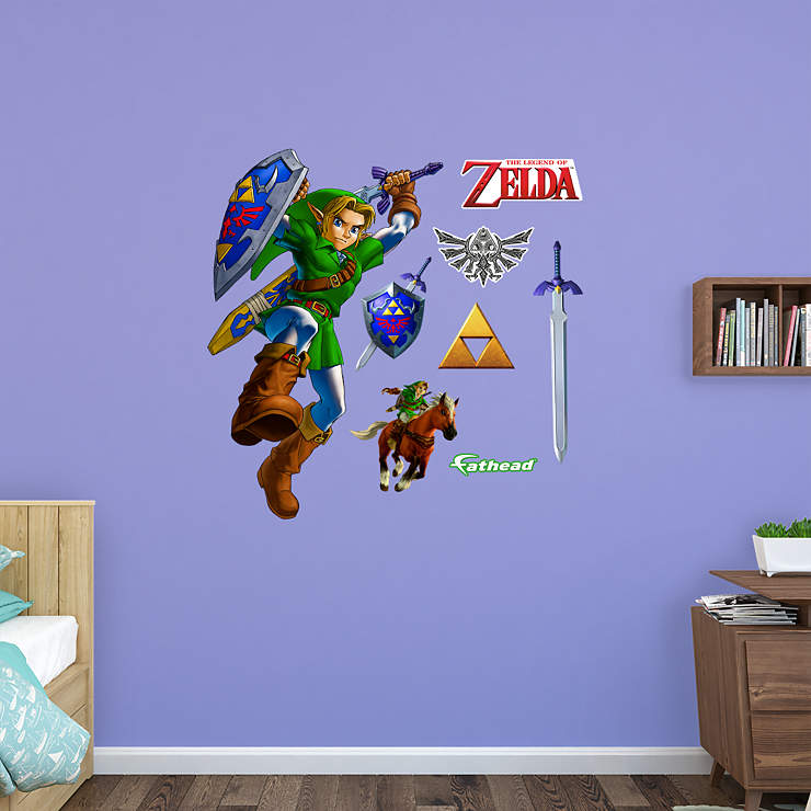 Zelda Wall Decoration : Link the legend of zelda wall decal fathead? for