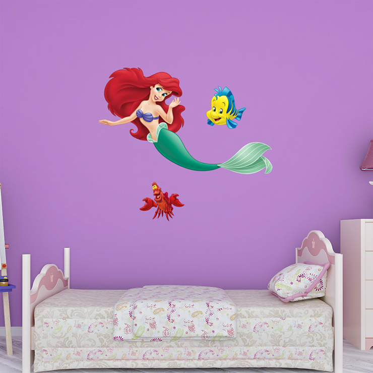 Classroom Decor Animals ~ The little mermaid collection wall decal shop fathead