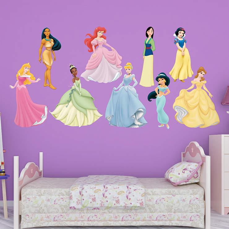 Disney Princess Collection Wall Decal Shop Fathead For Disney Princesses Decor