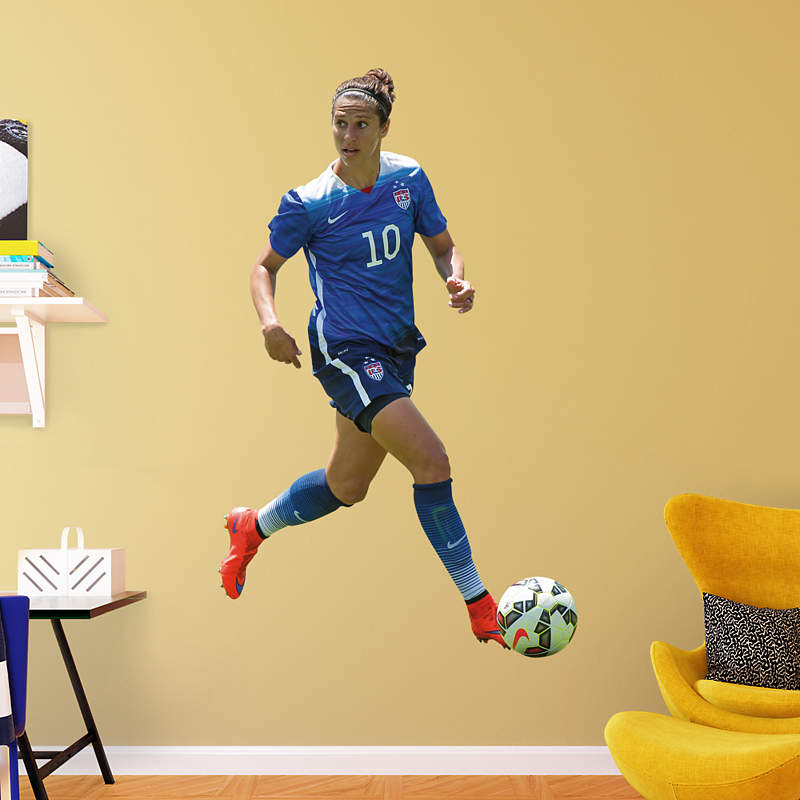 US Women's Soccer Fathead Products