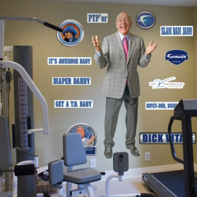 Dick Vitale Fathead Wall Decal