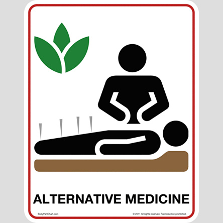 alternative medicine icon sign bodypartchart official site. Black Bedroom Furniture Sets. Home Design Ideas