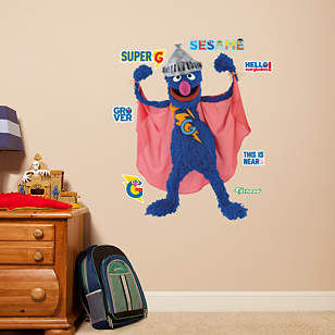 Super Grover - Fathead Jr