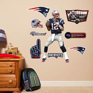 Tom Brady  - Fathead Jr