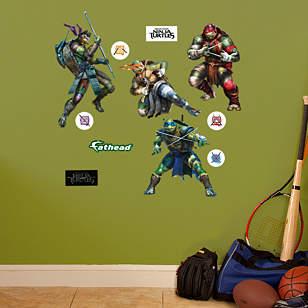 Teenage Mutant Ninja Turtles Movie Collection - Fathead Jr