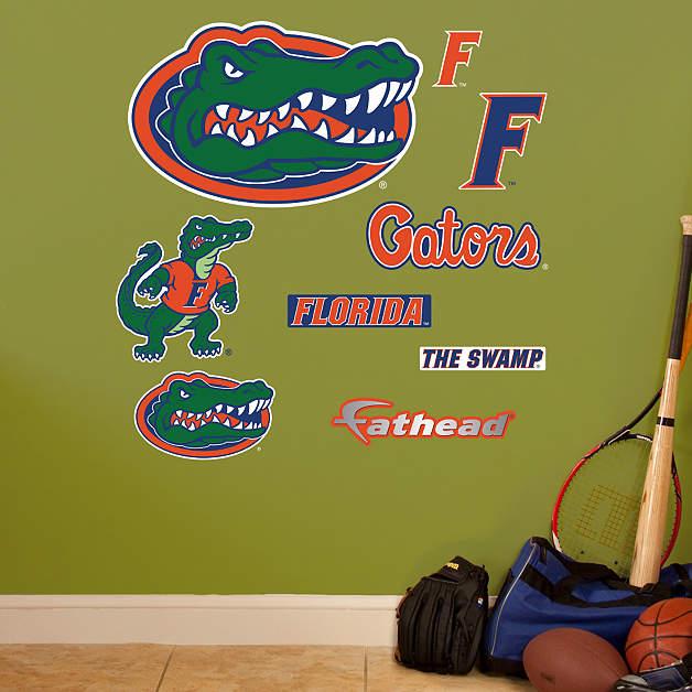 Florida Gators Team Logo Assortment Wall Decal Shop Fathead For Florida Gators Wall Graphics