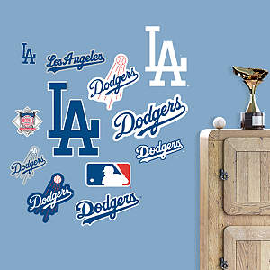 Inside dodger stadium canvas print shop fathead for los for Dodger stadium wall mural
