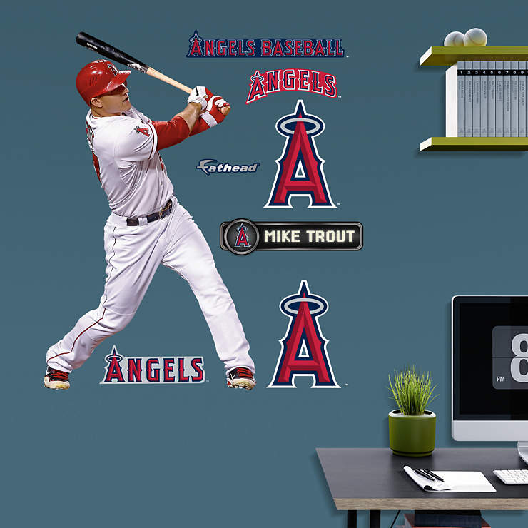 mike trout logo coloring pages - photo#27