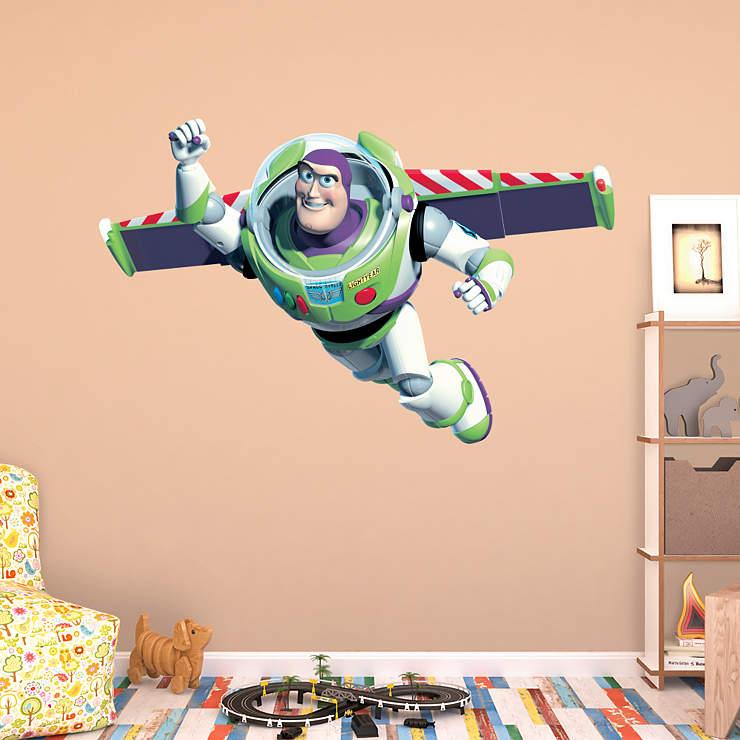 Buzz lightyear for Buzz lightyear wall mural