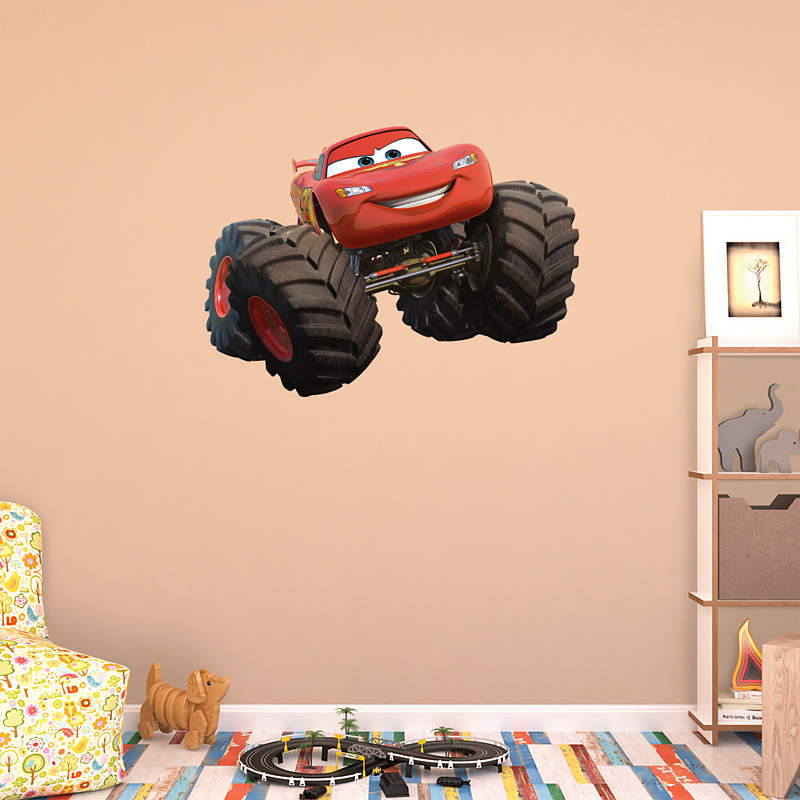 Shop the world of cars wall decals graphics fathead disney for Cars 2 wall mural