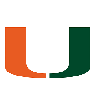 Miami Hurricanes Logo Wall Decal