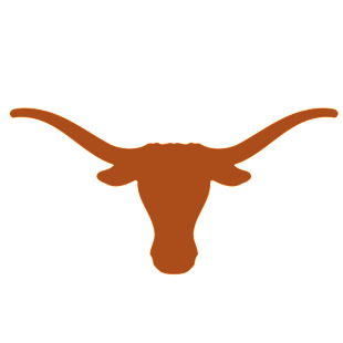 Texas Long Horns Logo Wall Decal