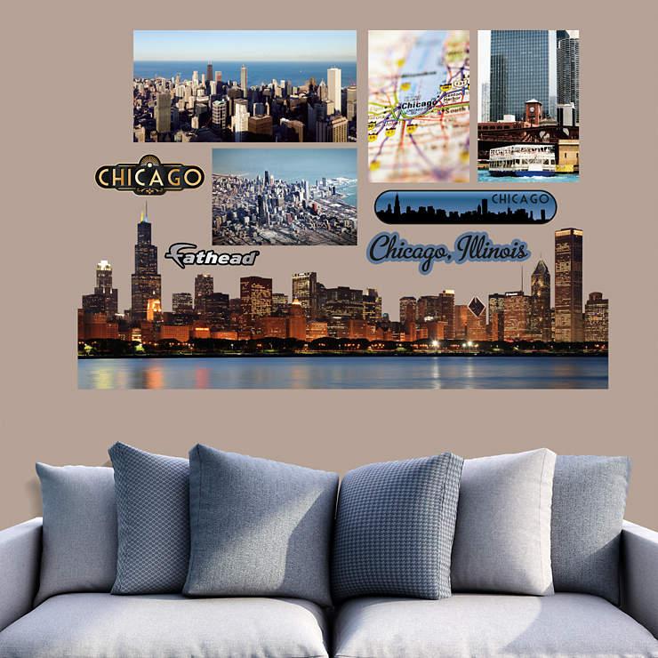Chicago Skyline Cutout