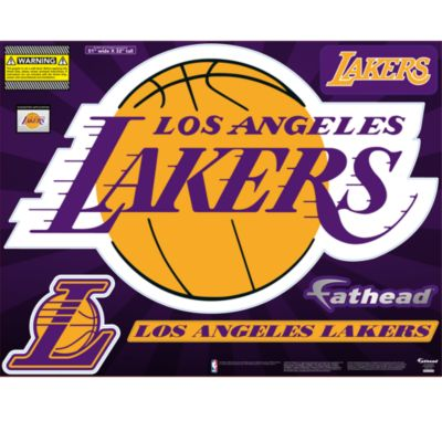 Los Angeles Lakers Street Grip Outdoor Decal