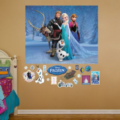 Frozen Mural Fathead Wall Decal