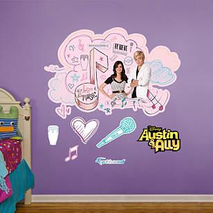 Austin & Ally Doodle Bubble