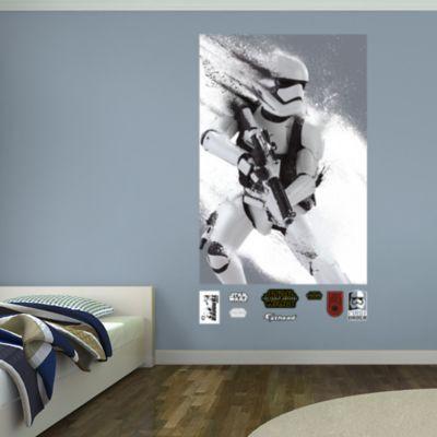 kylo ren s command shuttle wall decal shop fathead 174 for 3m command narrow picture stripes white spotlight australia