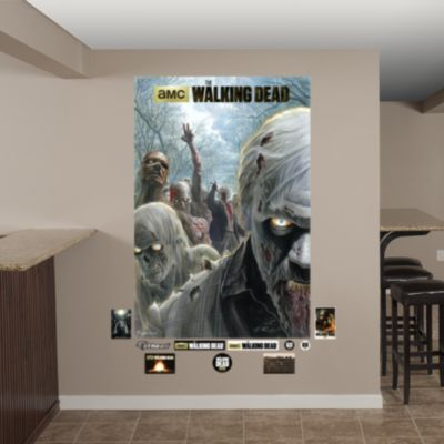 Illustrated Walkers Mural Fathead Wall Decal