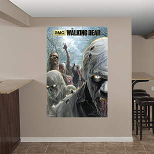 Illustrated Walkers Mural