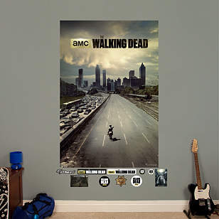 The Walking Dead - Freeway Mural