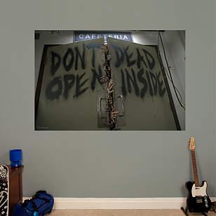 Don't Open Dead Inside Mural