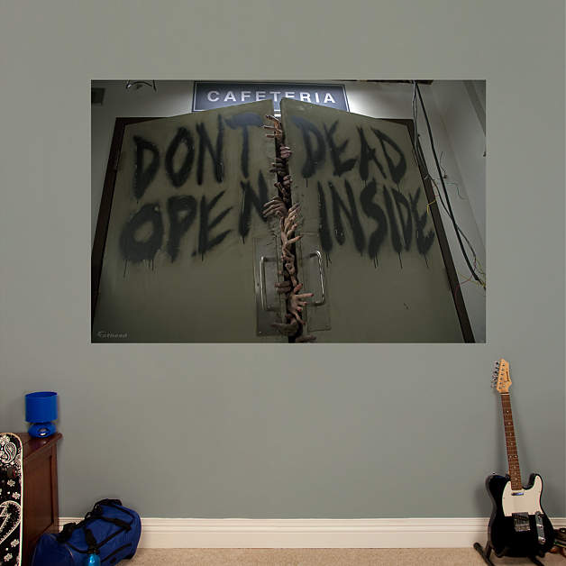 Mural Walking Dead Of Don 39 T Open Dead Inside Mural Wall Decal Shop Fathead