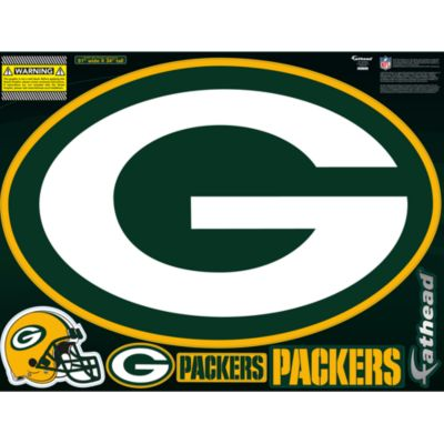 Green Bay Packers Street Grip Outdoor Decal