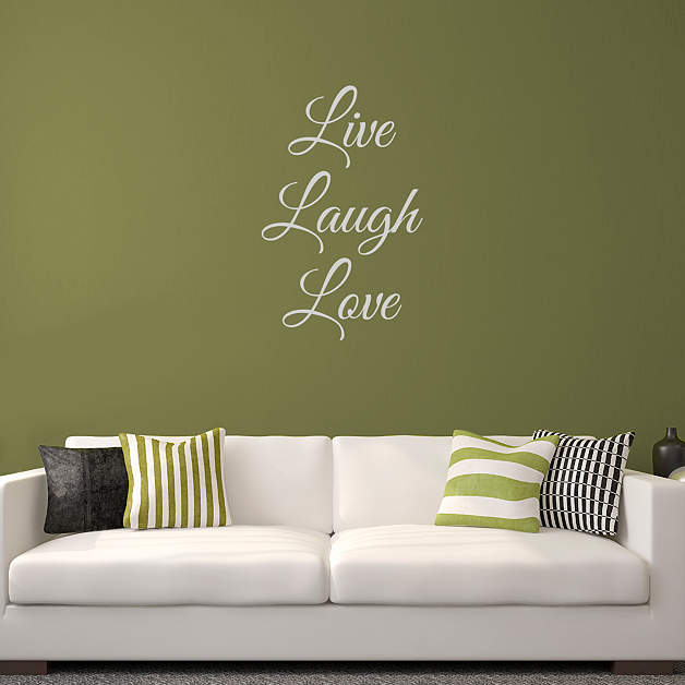 live laugh love wall decal shop fathead for wall art