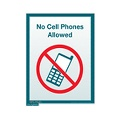 No Cell Phone Allowed sign (Small)