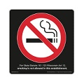 Wisconsin  No-Smoking-Symbol-Black