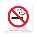 Wisconsin  No-Smoking-Symbol-White