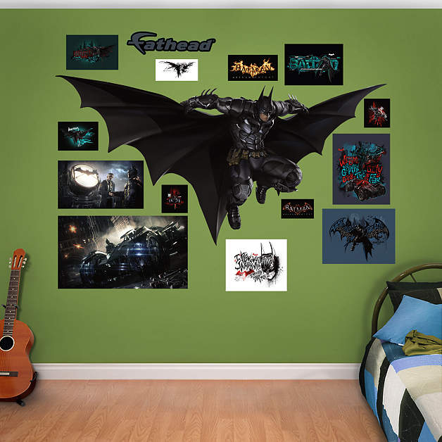 Batman Leap: Arkham Knight Fathead Wall Decal