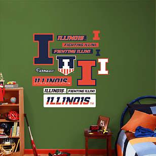 Illinois Fighting Illini - Team Logo Assortment
