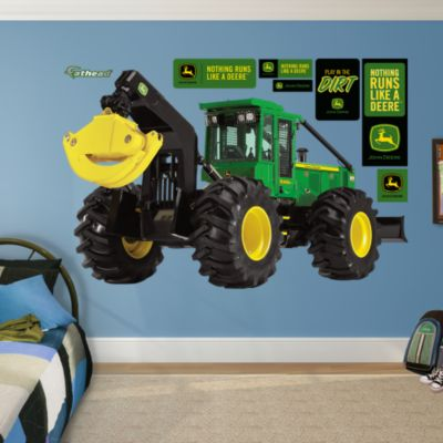 john deere 9560r tractor wall decal shop fathead 174 for tractor wall decals ebay