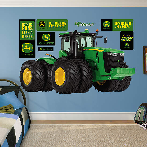 John Deere 9560r Tractor Wall Decal Shop Fathead For