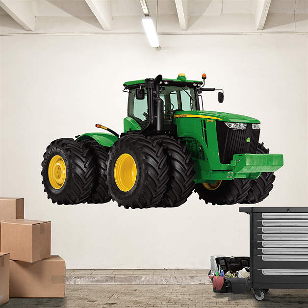John Deere Wall Decor : Wall decals john deere color the walls of your house