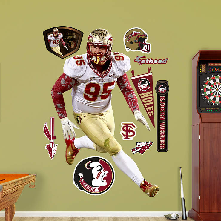 Life Size Bjoern Werner Florida State Wall Decal Shop