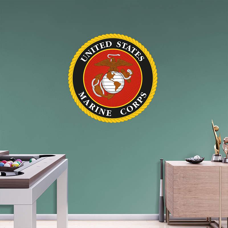Fathead Marine Corps Decals