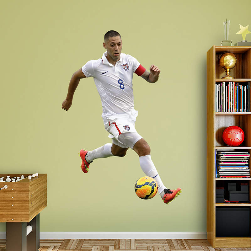 Clint Dempsey wall decal