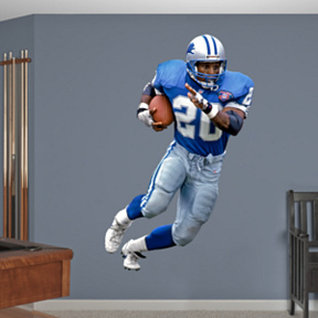 Barry Sanders Fathead Wall Decal