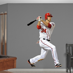 Bryce Harper Fathead Wall Decal